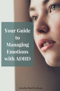 your guide to emotional management with ADHD