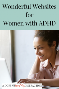 wonderful websites for women with ADHD