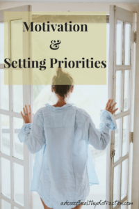 motivation and setting priorities