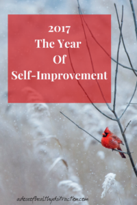 The year of self improvement