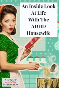 ADHD housewife