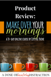 Product Review: Make Over Your Mornings