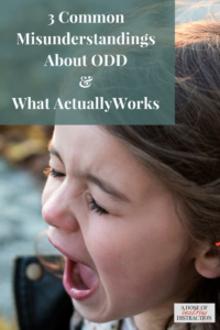 3 common misunderstandings about ODD