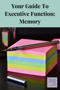 executive functions memory