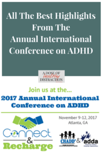 highlights from the 2017 international conference on ADHD