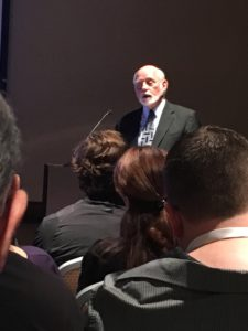 Russell Barkley speaks at the annual international conference on ADHD