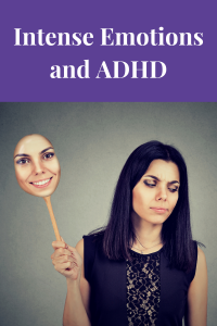 woman with intense emotions and ADHD