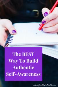 authentic self-awareness