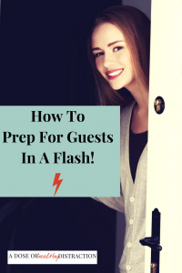prepare for house guests fast