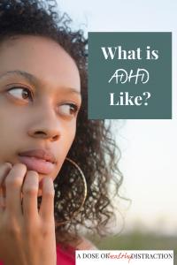 What does ADHD feel like?