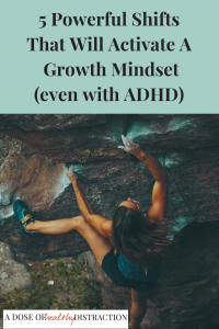 growth mindset and ADHD