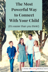 connect with your child