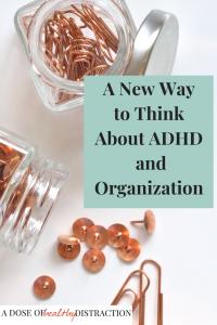ADHD and Organization