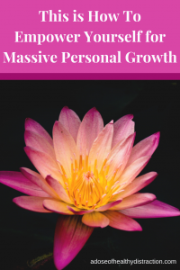 empower yourself for personal growth